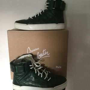 🏀Gucci signature GG Green Leather Basketball 🥊